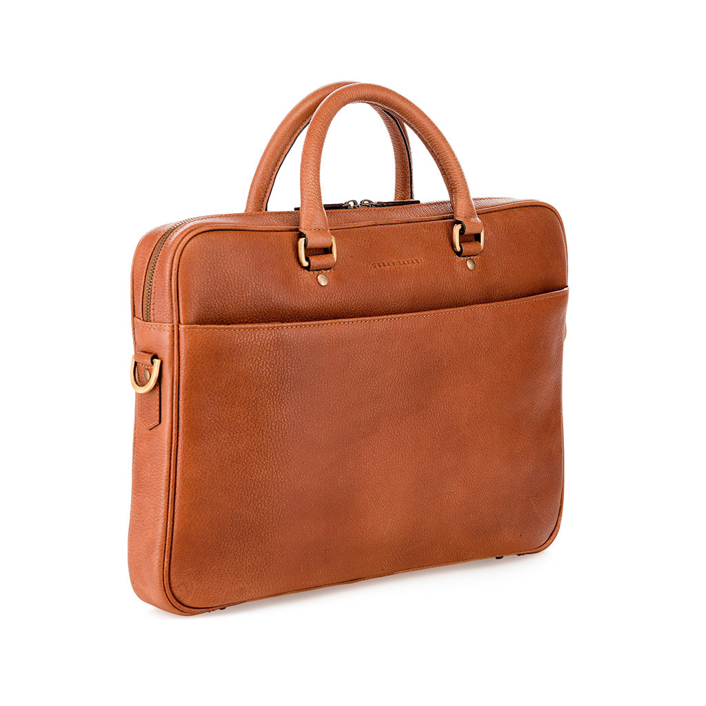 soft briefcase, leather soft briefcase, mens leather briefcase, leather laptop bag, Urban Safari soft briefcase, Metro soft briefcase