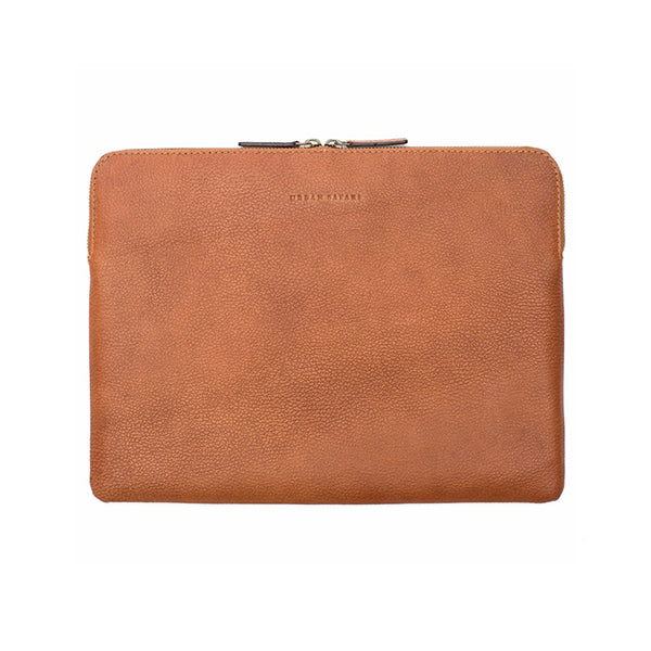 Leather laptop sleeve, leather laptop cover, leather laptop case, leather MacBook sleeve