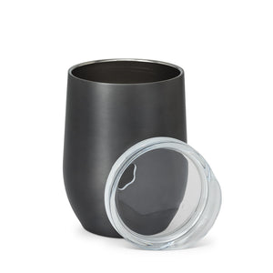 Insulated Wine Tumbler - Gunmetal Grey