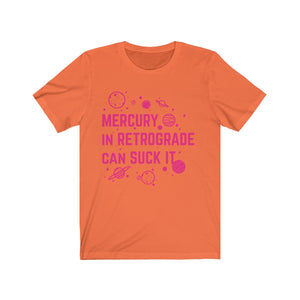 """Mercury In Retrograde"" Unisex Jersey Short Sleeve Tee"