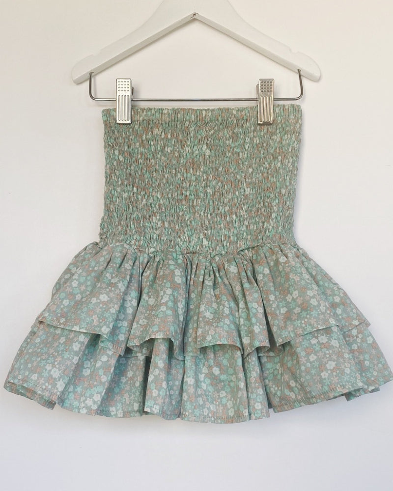 Rara Skirt in sage milkwood classic cotton