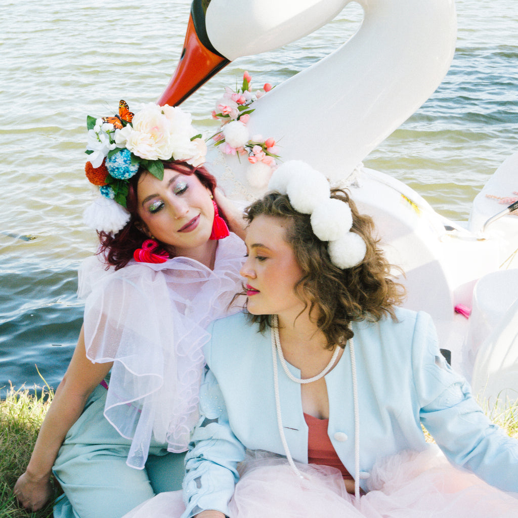 Photo Shoot: Swan Boats