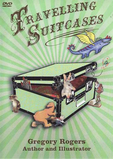 Book Links Travelling Suitcases DVD - Gregory Rogers