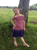 Ombre Girls Dress
