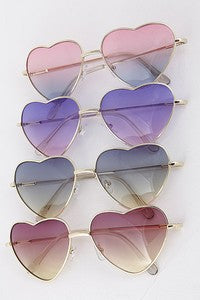 Heart Sunglasses-Assorted Style/Colors