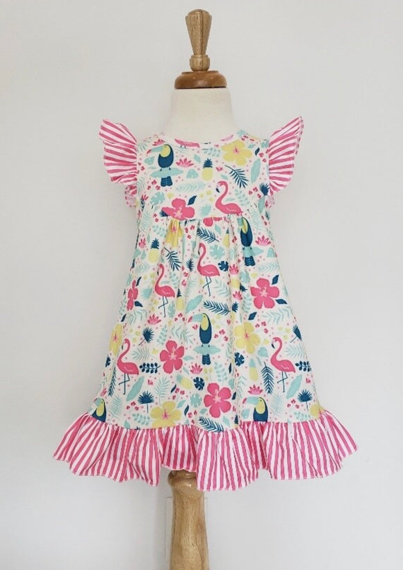 Flamingo Girls Dress