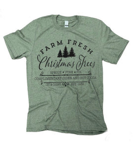 Light Green Christmas Tree t-shirt
