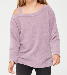 Lavender Girls Sweater Top