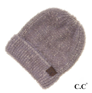 Two-toned soft CC Beanie