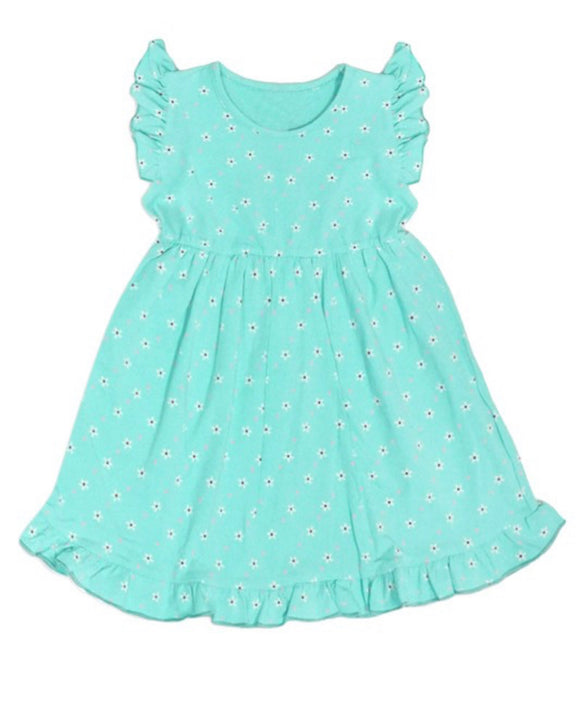 Turquoise Girls Dress