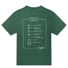 Load image into Gallery viewer, PICANTE RECIPE T-SHIRT FOREST GREEN