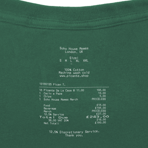 PICANTE RECIPE T-SHIRT FOREST GREEN