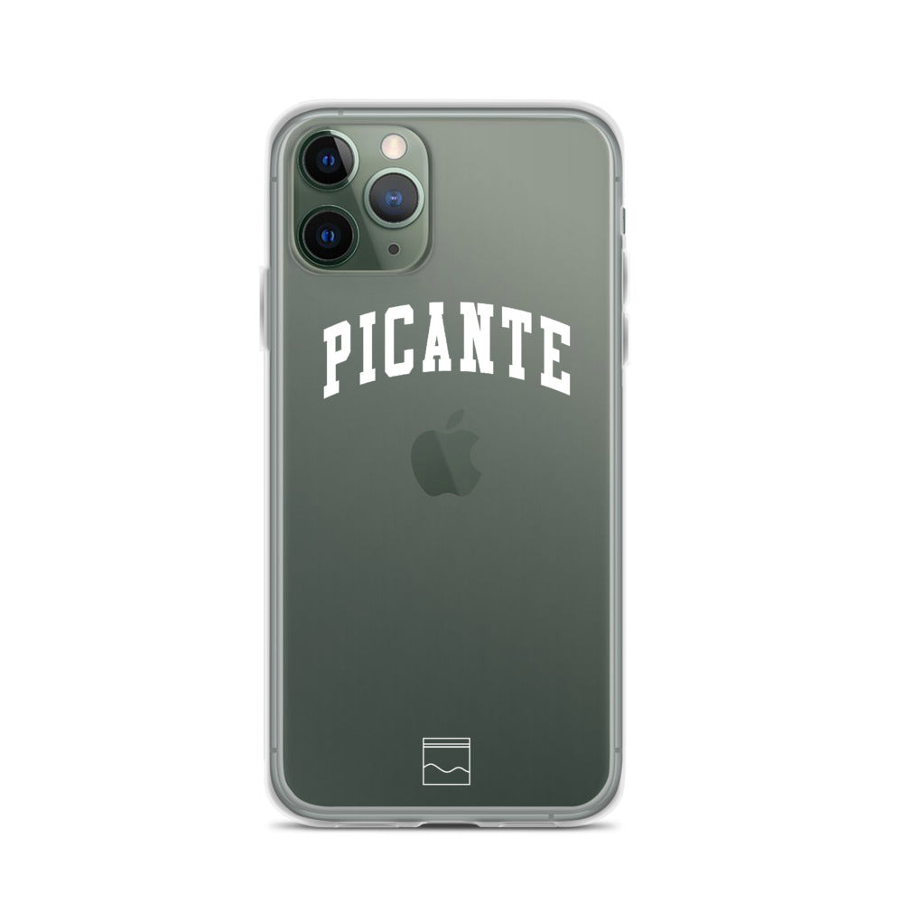 THE PICANTE COLLEGE IPHONE CASE