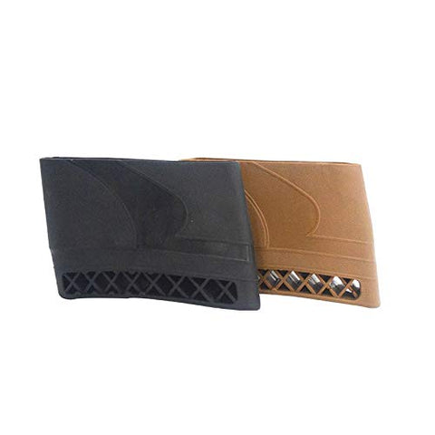 Black Gun Recoil Pad Slip on Recoil Pad Rifle Shotgun Buttstock Protector Rubber
