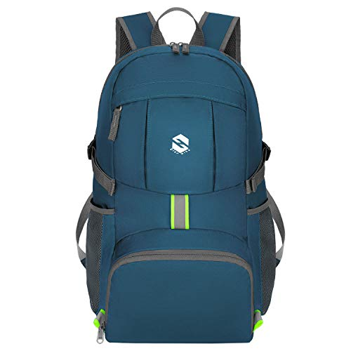624aa619333a Olarhike Ultra Lightweight Packable Travel Backpack, 35L Water Resistant  Foldable Travel Hiking &Amp; Camping Backpack Casual Daypack For Men &Amp;  ...