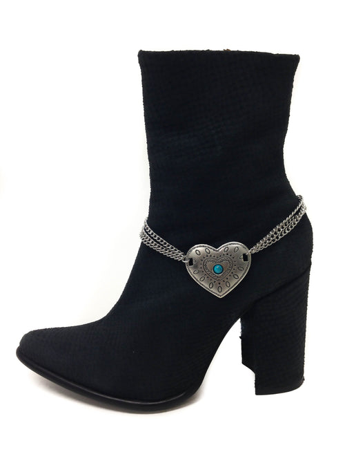 Heart of Steel Boot Harness by Gypset - FINAL SALE