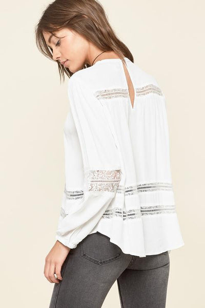 Escapade Woven Top by Amuse Society - FINAL SALE