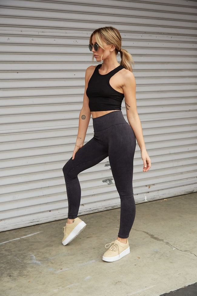 Set The Tone Legging - FINAL SALE