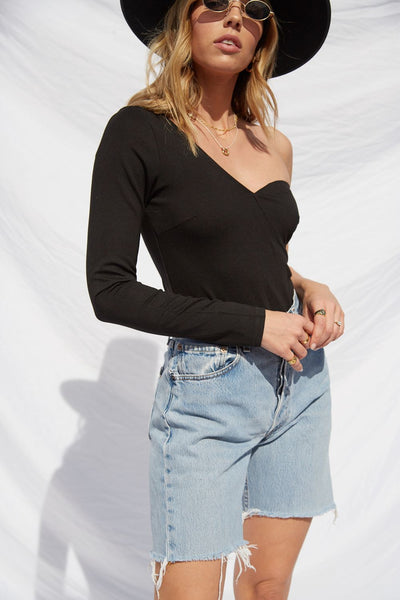 One More Time Bodysuit - FINAL SALE