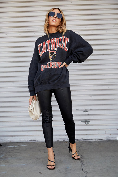 Catholic University Sweatshirt by Luna B Vintage