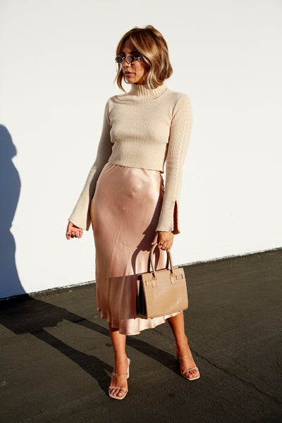 Parisian Chic Midi Skirt - FINAL SALE