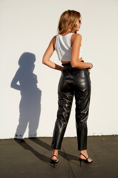Slow Ride Leather Pant - FINAL SALE