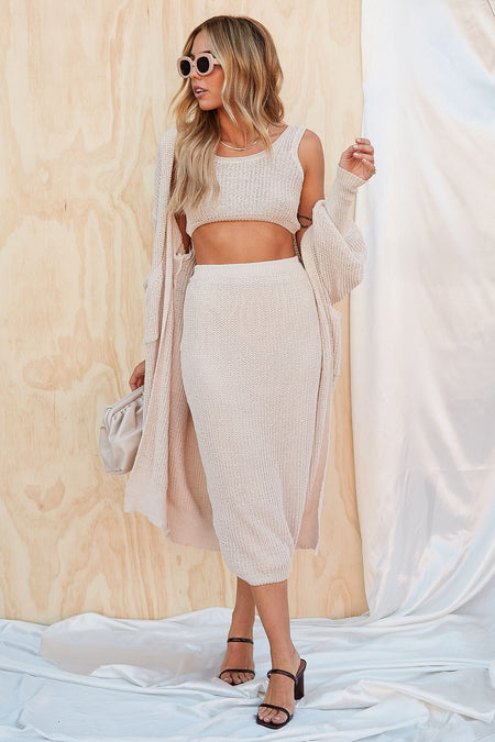 Fashion Icon Midi Skirt