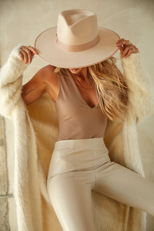 Keep It Sleek Bodysuit by Free People