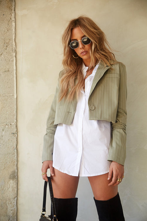 In Control Crop Blazer