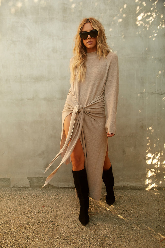 Turning Heads Sweater Dress