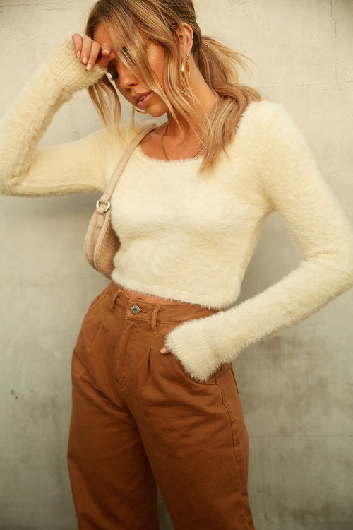Your Embrace Crop Sweater