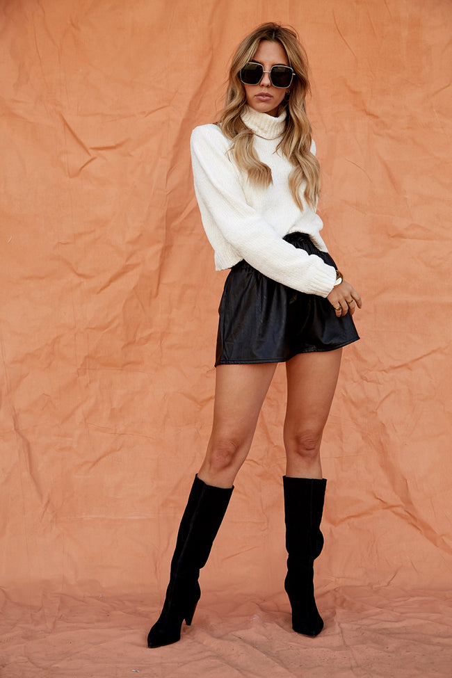 Full Moon Crop Sweater
