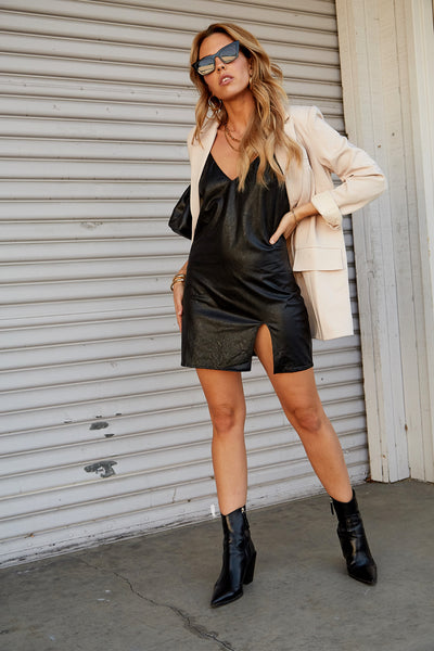 Fearless Leather Dress
