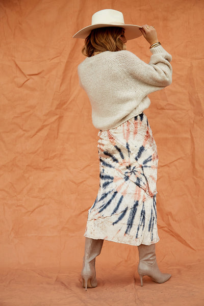 Serious Swagger Tie Dye Skirt by Free People - FINAL SALE