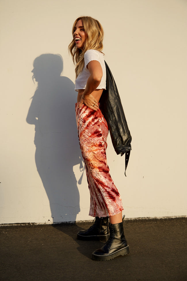Serious Swagger Tie Dye Skirt by Free People