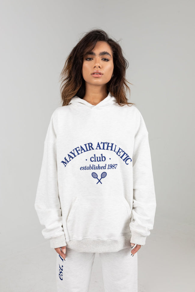Mayfair Athletics Grey Hoodie by The Mayfair Group