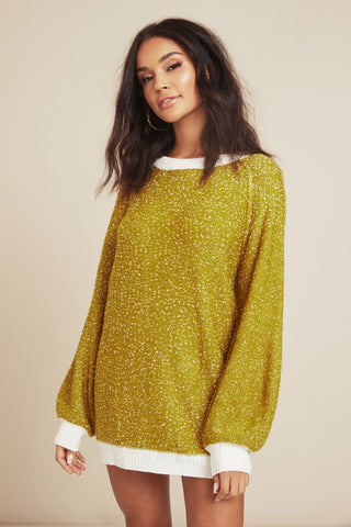 Bring Knit On Sweater Dress