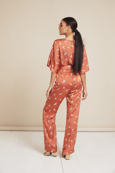 Ruffle My Feathers Jumpsuit