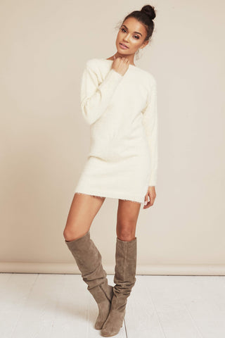 Hold Me Close Sweater Dress