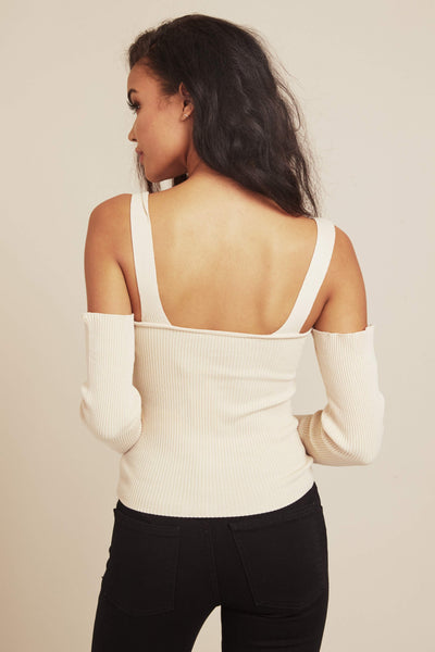 Francis Cold Shoulder Knit Top by Minkpink - FINAL SALE