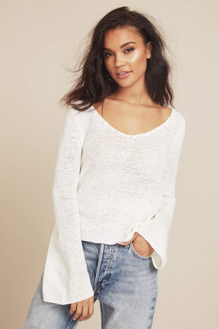 Beau Lace Side Sweater by Minkpink