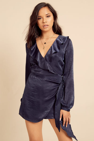 Secret Crush Satin Romper - FINAL SALE