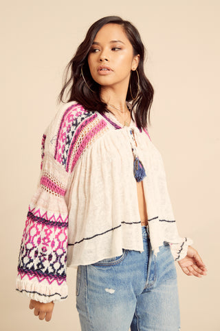 Dreamland Knit Cardi by Free People - FINAL SALE