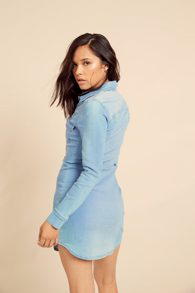 Dylan Stretch Denim Dress by Somedays Lovin - FINAL SALE