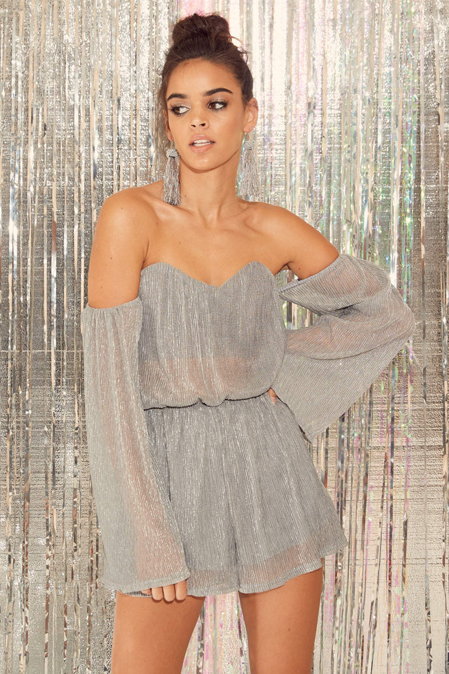 Diamond Dust Romper - FINAL SALE
