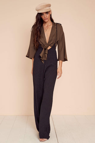 Close Ties Jumpsuit