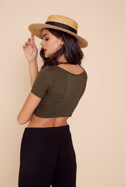 Pino Crop Top by East N West Label - FINAL SALE
