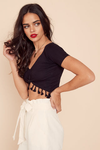 Pino Crop Top by East N West Label
