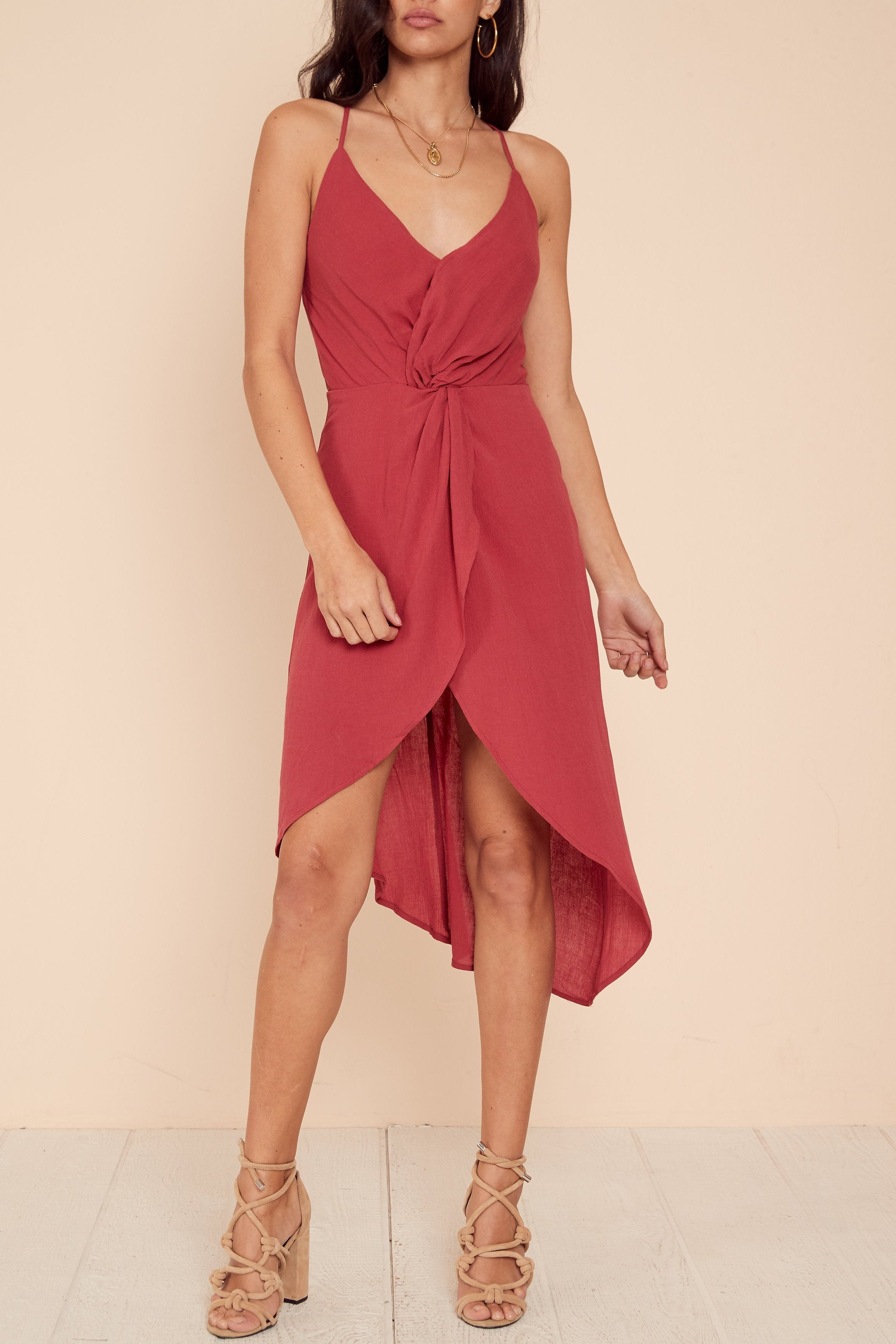 Meant To Be Midi Dress - FINAL SALE