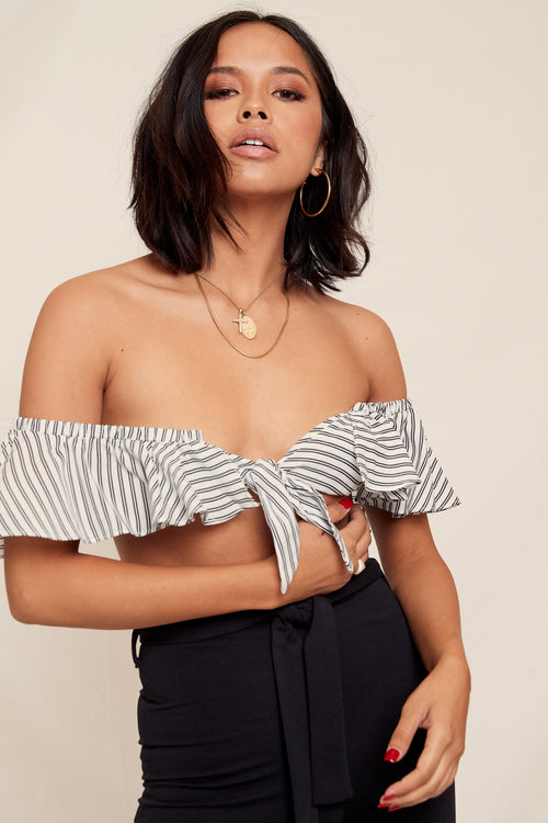 Making Waves Crop Top - FINAL SALE